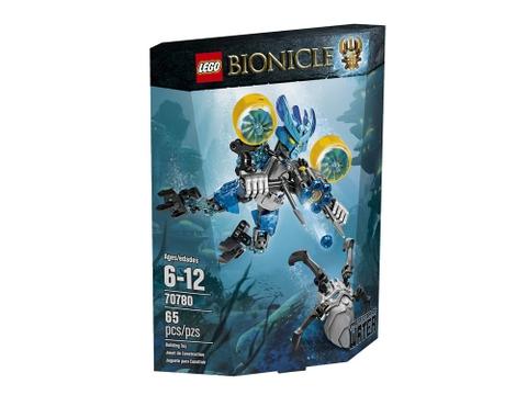 Vỏ hộp đựng sản phẩm Lego Bionicle 70780 - Hộ vệ nước