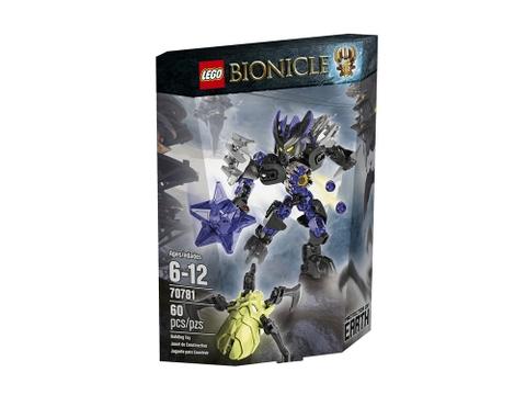 Hình ảnh vỏ hộp bộ Lego Bionicle 70781 - Hộ Vệ Đất