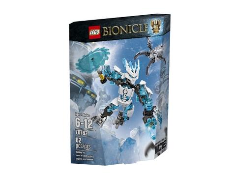 Vỏ ngoài hộp bộ Lego Bionicle 70782- Hộ vệ băng