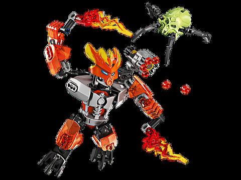 Bộ xếp hình Lego Bionicle 70783 - Hộ Vệ Lửa độc đáo với nhiệm vụ thú vị cho bé