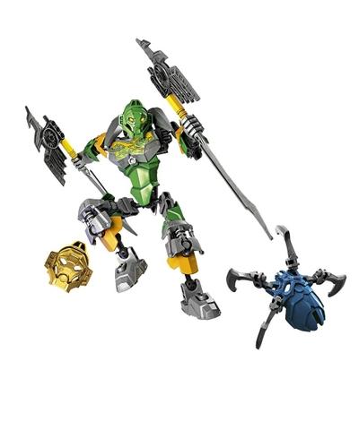 Bộ xếp hình Lego Bionicle 70784 - Thần rừng Lewa với bối cảnh sinh động