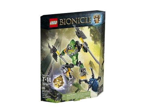 Vỏ hộp đựng bộ Lego Bionicle 70784 - Thần rừng Lewa