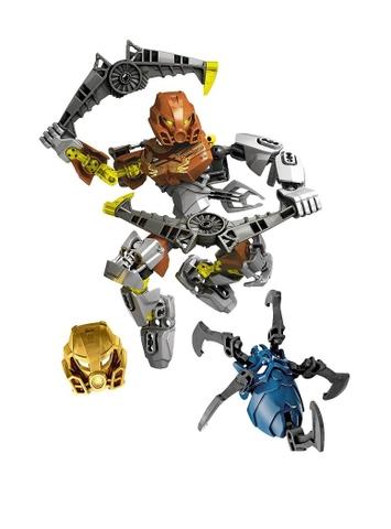 Mô hình Lego Bionicle 70785 - Thần đá Pohatu