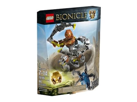 Thiết kế hộp đựng Lego Bionicle 70785 - Thần đá Pohatu