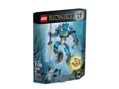 Hình ảnh vỏ hộp bộ Lego Bionicle 70786- Thần nước Gali