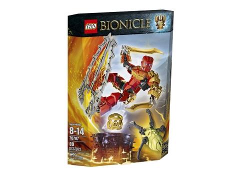 Hình ảnh vỏ hộp bộ Lego Bionicle 70787 - Thần lửa Tahu
