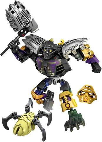 Mô hình Lego Bionicle 70789 - Thần đất Onua quyền năng