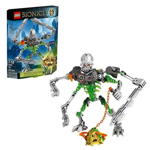 Toàn bộ bộ xếp hình Lego Bionicle 70792 - Máy Chém Đầu Sọ hấp dẫn