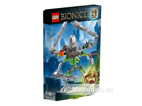 Vỏ hộp đựng bộ xếp hình Lego Bionicle 70792 - Máy Chém Đầu Sọ