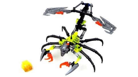 Cận cạnh mô hình Lego Bionicle 70794 - Bò Cạp Đầu Sọ