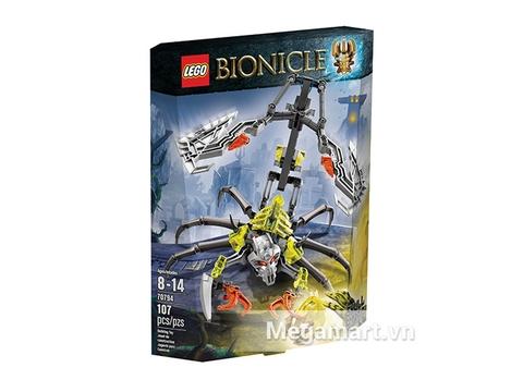 Hình ảnh vỏ hộp sản phẩm Lego Bionicle 70794 - Bò Cạp Đầu Sọ