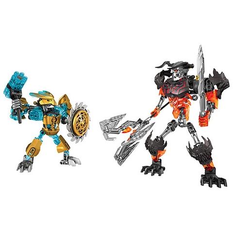 2 nhân vật trong Lego Bionicle 70795 - Cuộc Chiến Mặt Nạ Vàng
