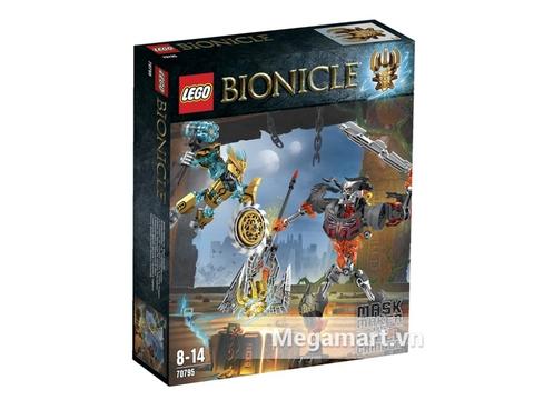 Hình ảnh vỏ ngoài của Lego Bionicle 70795 - Cuộc Chiến Mặt Nạ Vàng