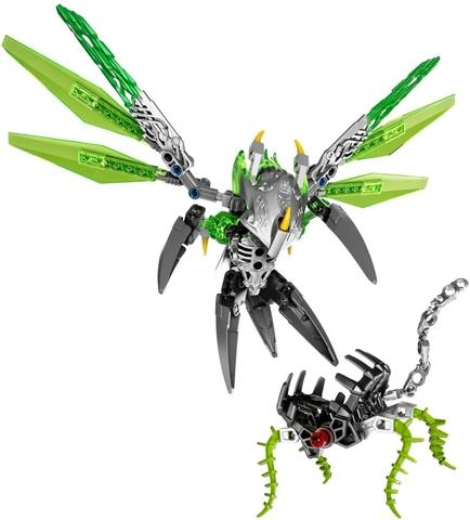 Các chi tiết có trong bộ xếp hình Lego Bionicle 71300 - Sinh Vật Rừng Uxar
