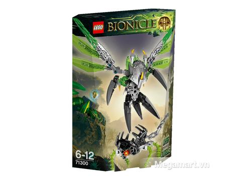 Hộp đựng bộ xếp hình Lego Bionicle 71300 - Sinh Vật Rừng Uxar