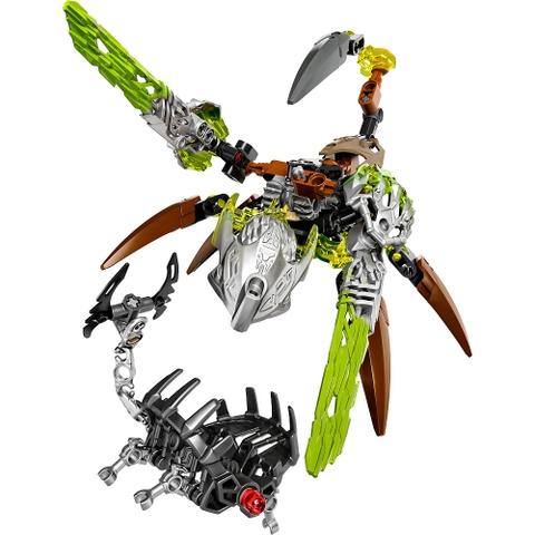Bộ ghép hình Lego Bionicle 71301 - Sinh vật Đá Ketar với màu sắc phong phú