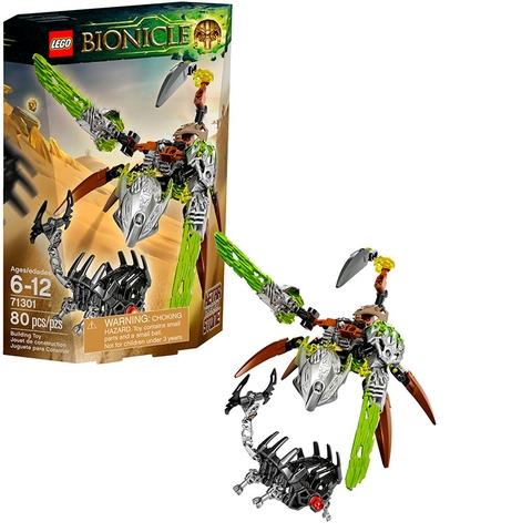 Trọn bộ chi tiết có trong Lego Bionicle 71301 - Sinh vật Đá Ketar
