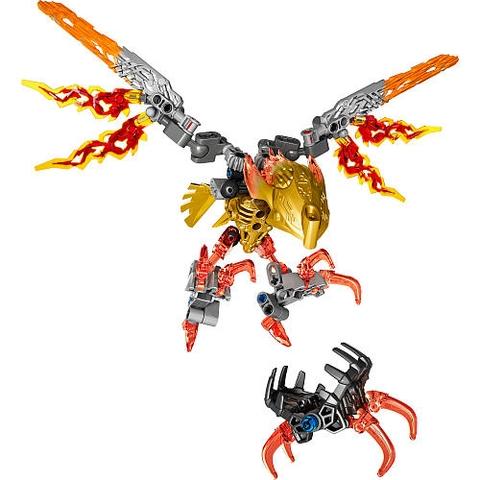 Trọn bộ các chi tiết có trong bộ xếp hình Lego Bionicle 71303 - Sinh Vật Lửa Ikir