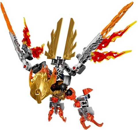 Bộ xếp hình Lego Bionicle 71303 - Sinh Vật Lửa Ikir thiết kế độc đáo, mạnh mẽ