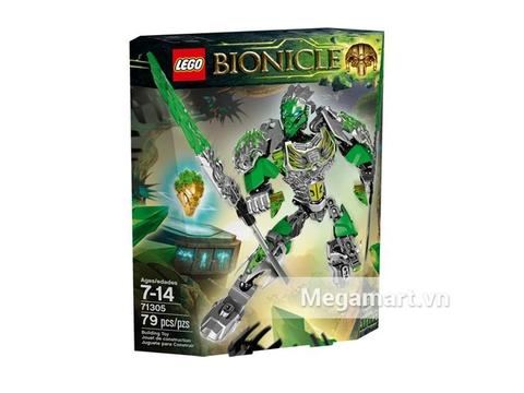Hộp đựng bộ Lego Bionicle 71305 - Thần Rừng Lewa