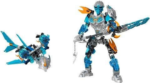 Bộ xếp hình Lego Bionicle 71307 - Thần Nước Gali giúp bé phát triển khả năng sáng tạo