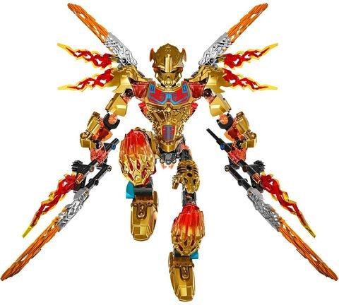 Bộ xếp hình Lego Bionicle 71308 - Thần Lửa Tahu thiết kế sáng tạo, an toàn