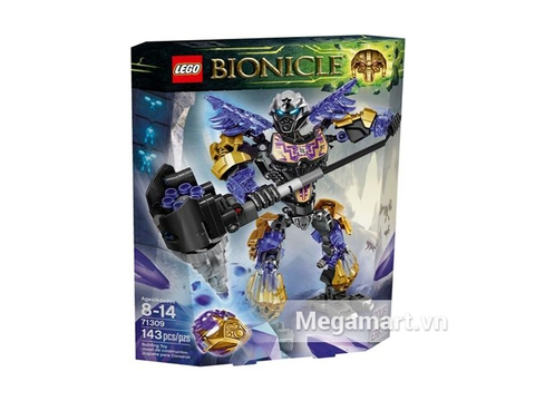 Hình ảnh vỏ hộp Lego Bionicle 71309 - Thần Đất Onua