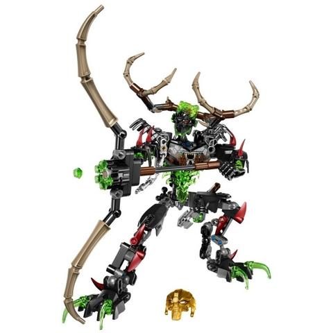 Trọn bộ các chi tiết trong bộ xếp hình Lego Bionicle 71310 - Thợ Săn Umarak