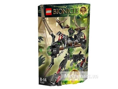Hình ảnh vỏ hộp Lego Bionicle 71310 - Thợ Săn Umarak