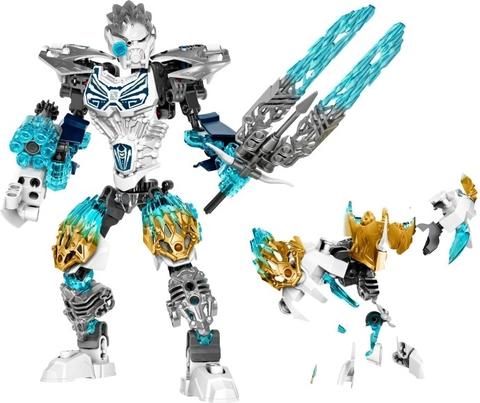 Trọn bộ chi tiết có trong bộ xếp hình Lego Bionicle 71311 - Kopaka Và Melum Kết Hợp