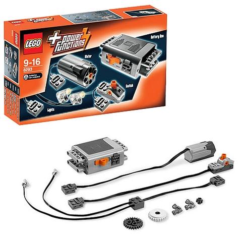 Lego Power Functions 8293 - Bộ Động Cơ Power Functions - bộ phụ kiện hot nhất