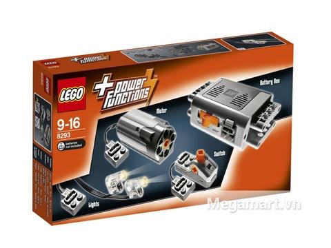 Hình ảnh vỏ hộp bộ Lego Power Functions 8293 - Bộ Động Cơ Power Functions