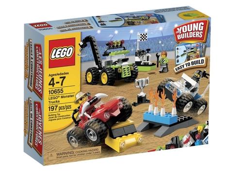 Hình ảnh vỏ hộp đựng sản phẩm Lego Bricks & More 10655 - Xe Tải Quái Vật