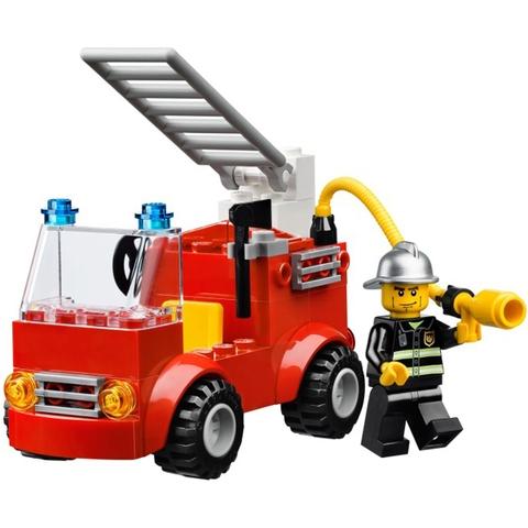 Bé sẽ được làm lính cứu hỏa với bộ đồ chơi Lego Bricks & More 10661 - Bộ Lắp Ráp Chủ Đề Cứu Hỏa