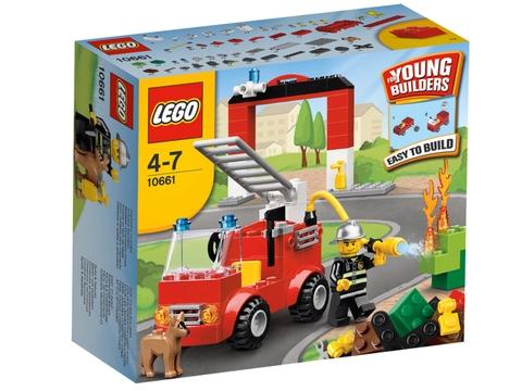 Hình ảnh thực tế bên ngoài sản phẩm Lego Bricks & More 10661 - Bộ Lắp Ráp Chủ Đề Cứu Hỏa
