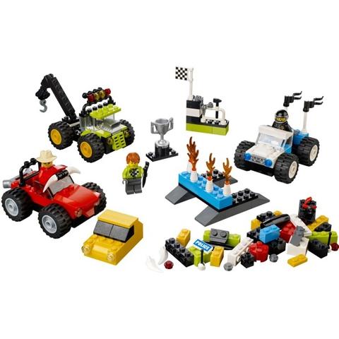 Toàn bộ các chi tiết của bộ Lego Bricks & More 10655 - Xe Tải Quái Vật