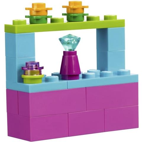 Mang đến nhiều bài học cho bé với bộ xếp hình Lego Bricks & More 10656 - Bộ Lắp Ráp Chủ Đề Công Chúa