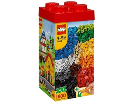 Hình ảnh hộp đựng thiết kế bắt mắt của sản phẩm Lego Bricks & More 10664 - Tháp Gạch Sáng Tạo