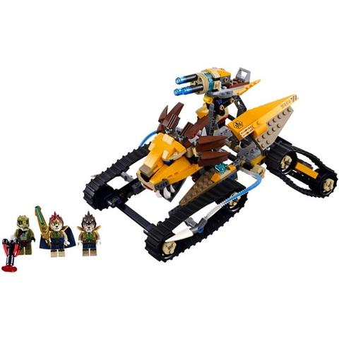 Mô hình thực tế sau khi hoàn thành của Lego Chima 70005 - Xe Chiến Đấu Hoàng Gia Của Laval