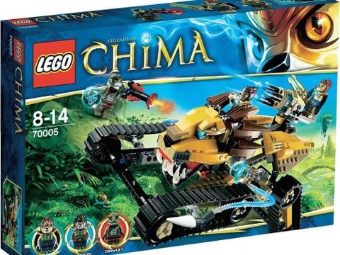 Vỏ ngoài sản phẩm Lego Chima 70005 - Xe Chiến Đấu Hoàng Gia Của Laval