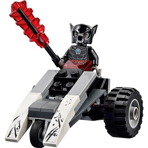 Chất liệu an toàn trong Lego Chima 70009 - Sào Huyệt Bộ Tộc Sói để các bé thoải mái chơi đùa
