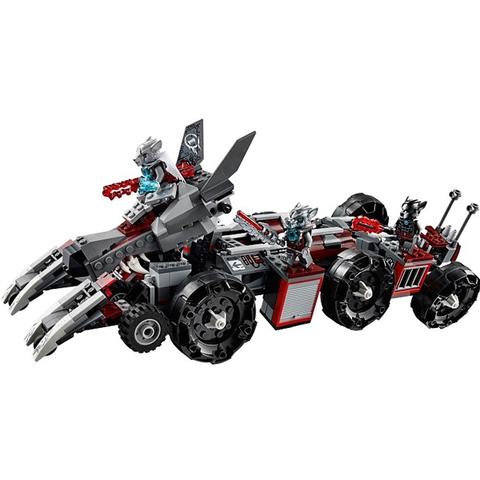 Bộ đồ chơi Lego Chima 70009 - Sào Huyệt Bộ Tộc Sói mang đến cho bé nhiều trải nghiệm