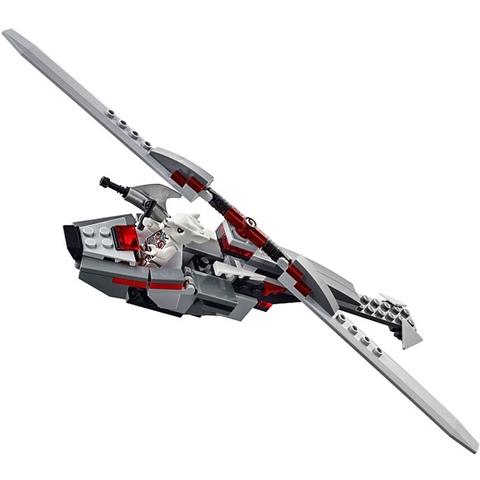 Bé sẽ được phát huy khả năng sáng tạo với các mô hình Lego Chima 70009 biến đổi linh hoạt