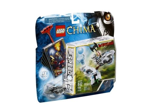 Hình ảnh thực tế vỏ hộp sản phẩm Lego Chima 70106 - Tháp Băng