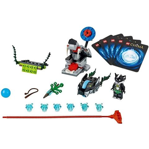 Mô hình Bộ sản phẩm Lego Chima 70107 - Chồn Tấn Công