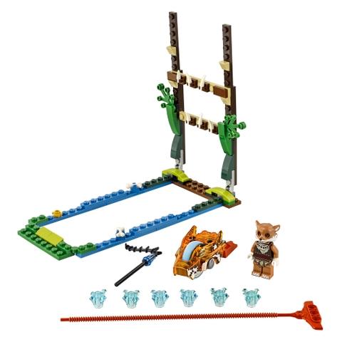 Toàn bộ các chi tiết có trong bộ xếp hình Lego Chima 70111 - Swamp Jump
