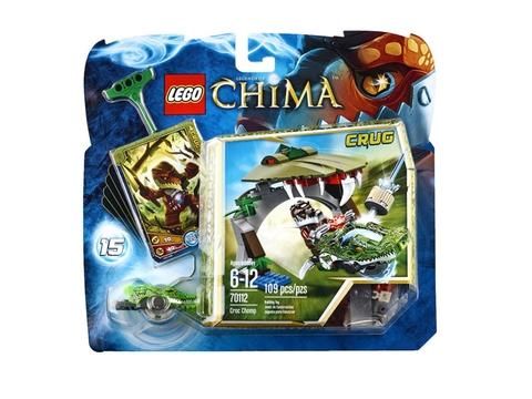 Hình ảnh vỏ hộp bắt mắt của Lego Chima 70112 - Croc Chomp