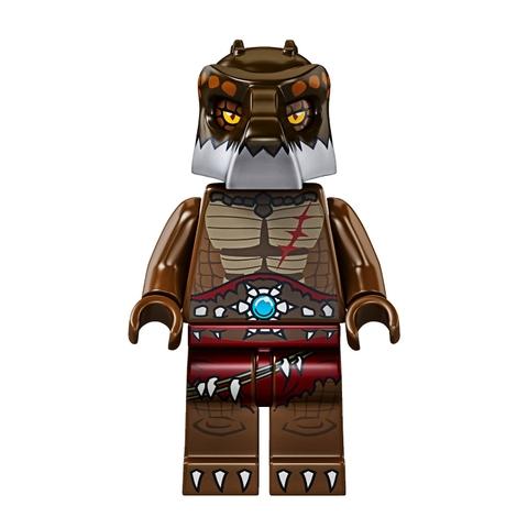Bé hãy cùng tham gia trò chơi trong Lego Chima 70112 - Croc Chomp để thực hiện nhiệm vụ thú vị nhé