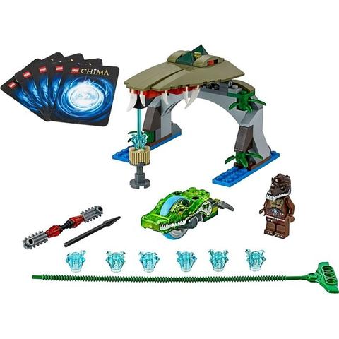Toàn bộ các chi tiết xuất hiện trong bộ xếp hình Lego Chima 70112 - Croc Chomp