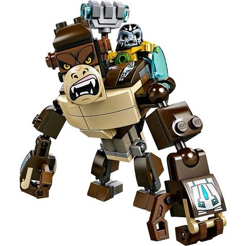 Các bé hãy cùng thực hiên nhiệm vụ với Gorilla trong bộ xếp hình Lego Chima 70125 - Khỉ Đột Huyền Thoại nhé